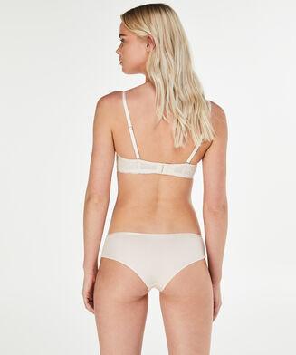 Voorgevormde strapless beugel bh Angie Nude, Roze