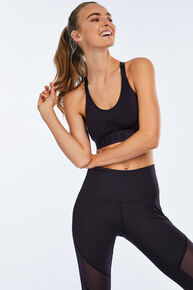 HKMX Sport Bh The Crop Level 1 Doutzen, Rood