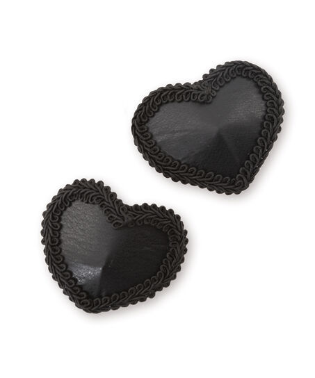 Leather Nipple Covers, Grijs
