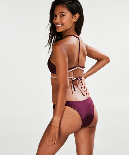 Cheeky high leg bikinibroekje Times Two, Roze