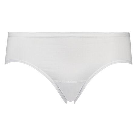 Superslip rio bikini katoen, Wit
