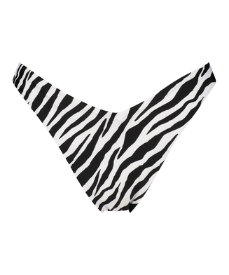 Hoog uitgesneden rio bikinibroekje HKM x NA-KD, Wit