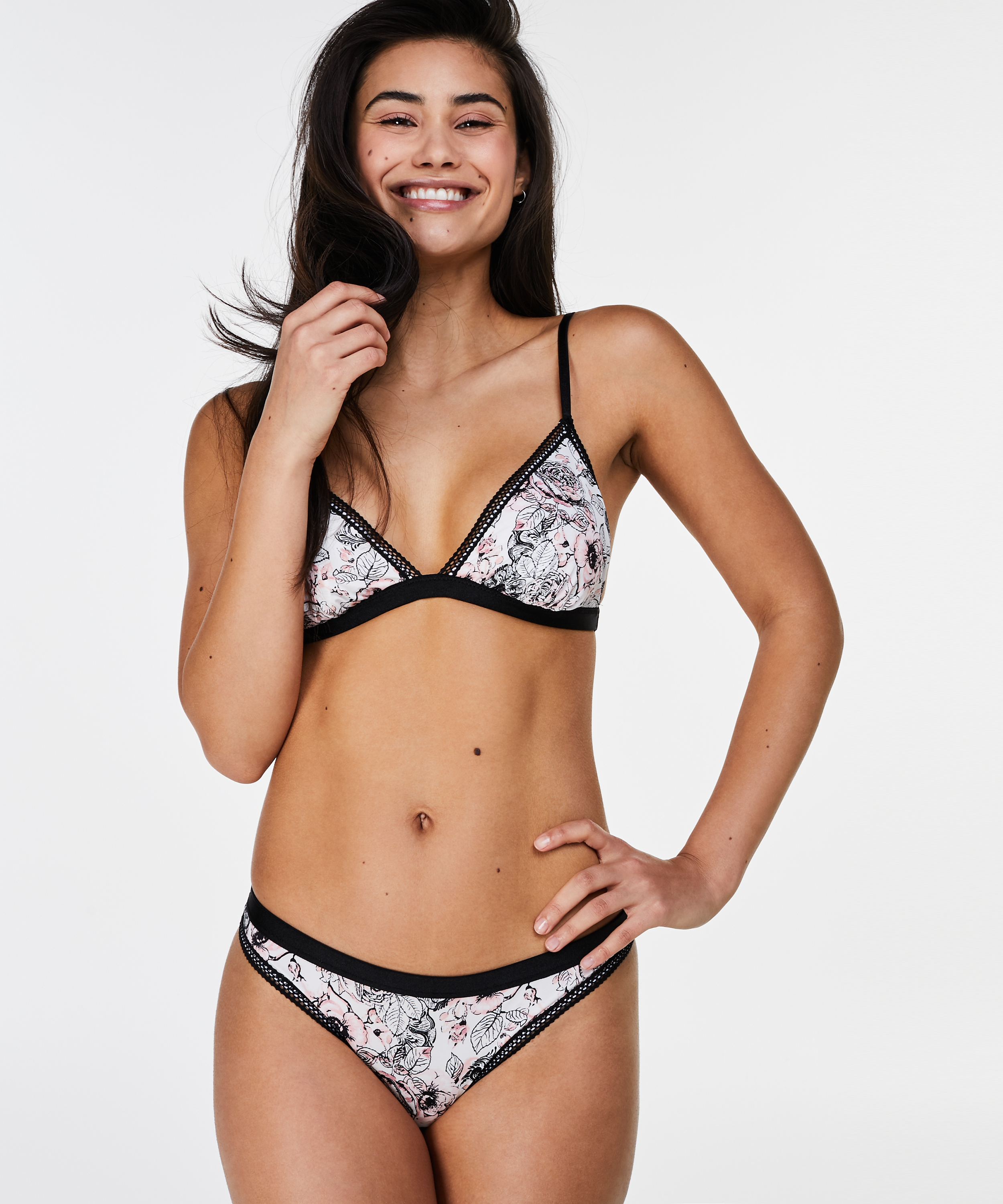 Bralette Ashley, Zwart, main