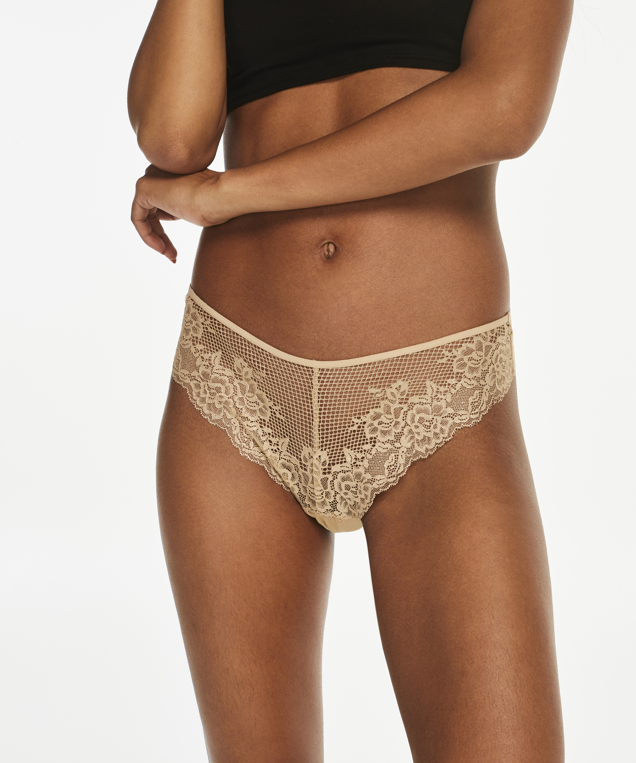 String Invisible lace front micro back, Huidskleur, main