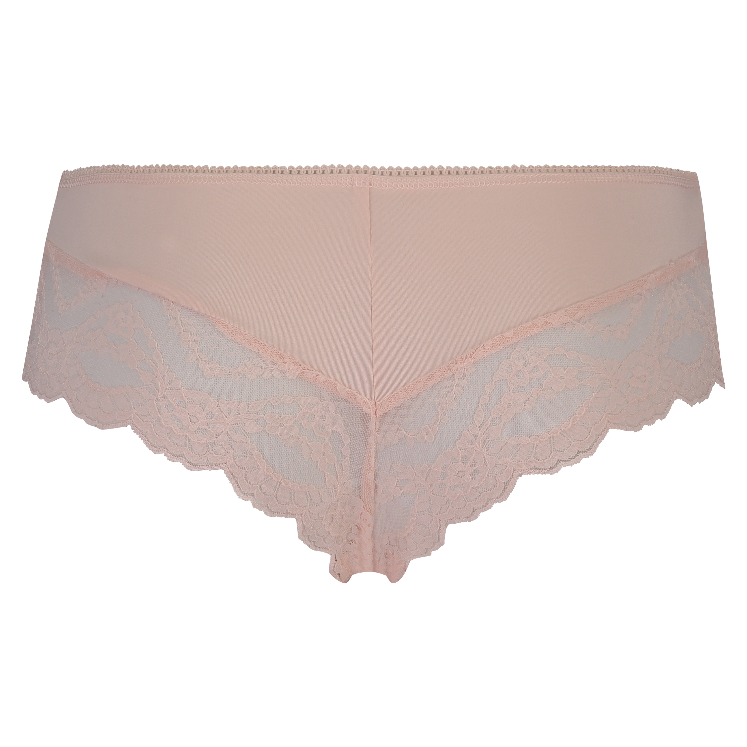 Brazilian ruched lacey, Roze, main