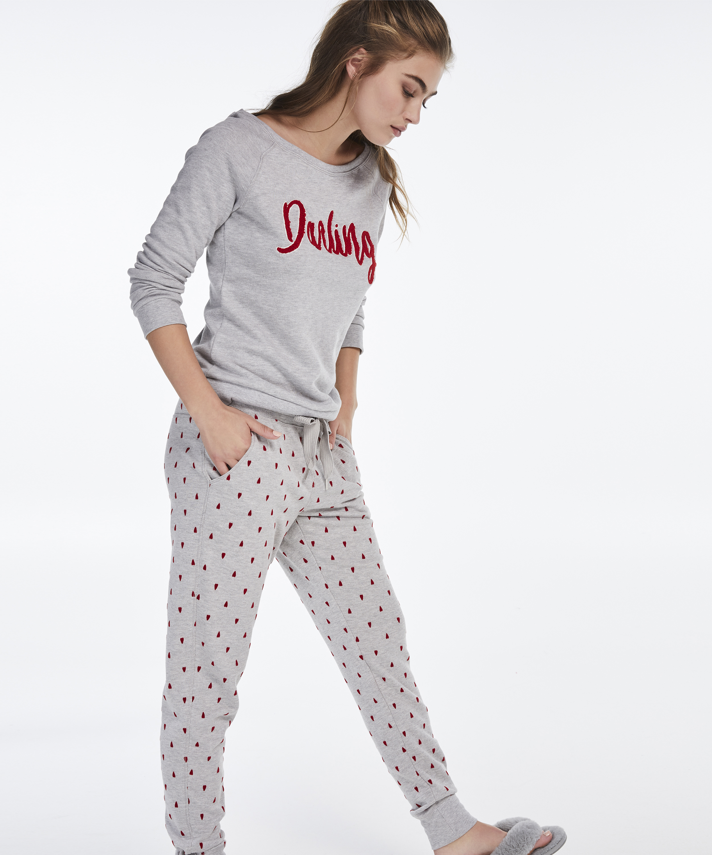 Joggingbroek, Grijs, main