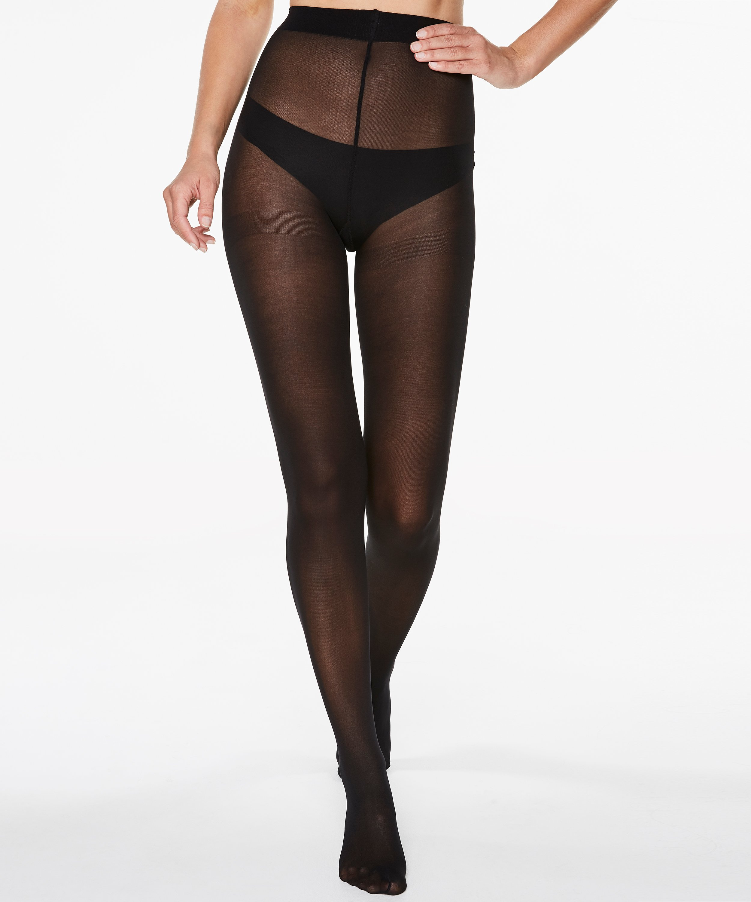 Opaque Panty 40 Denier, Zwart, main