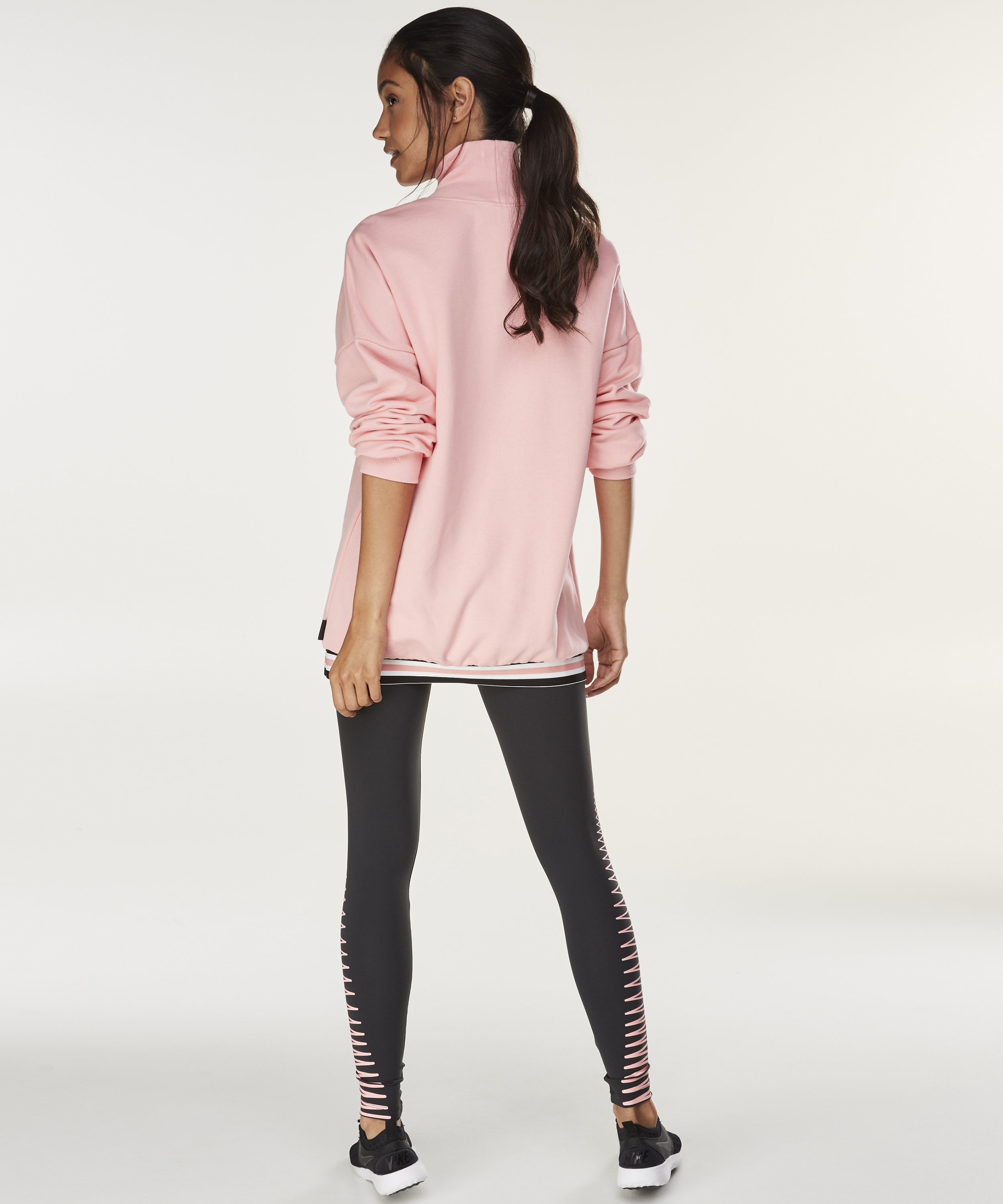 HKMX Sweater Branded, Roze, main