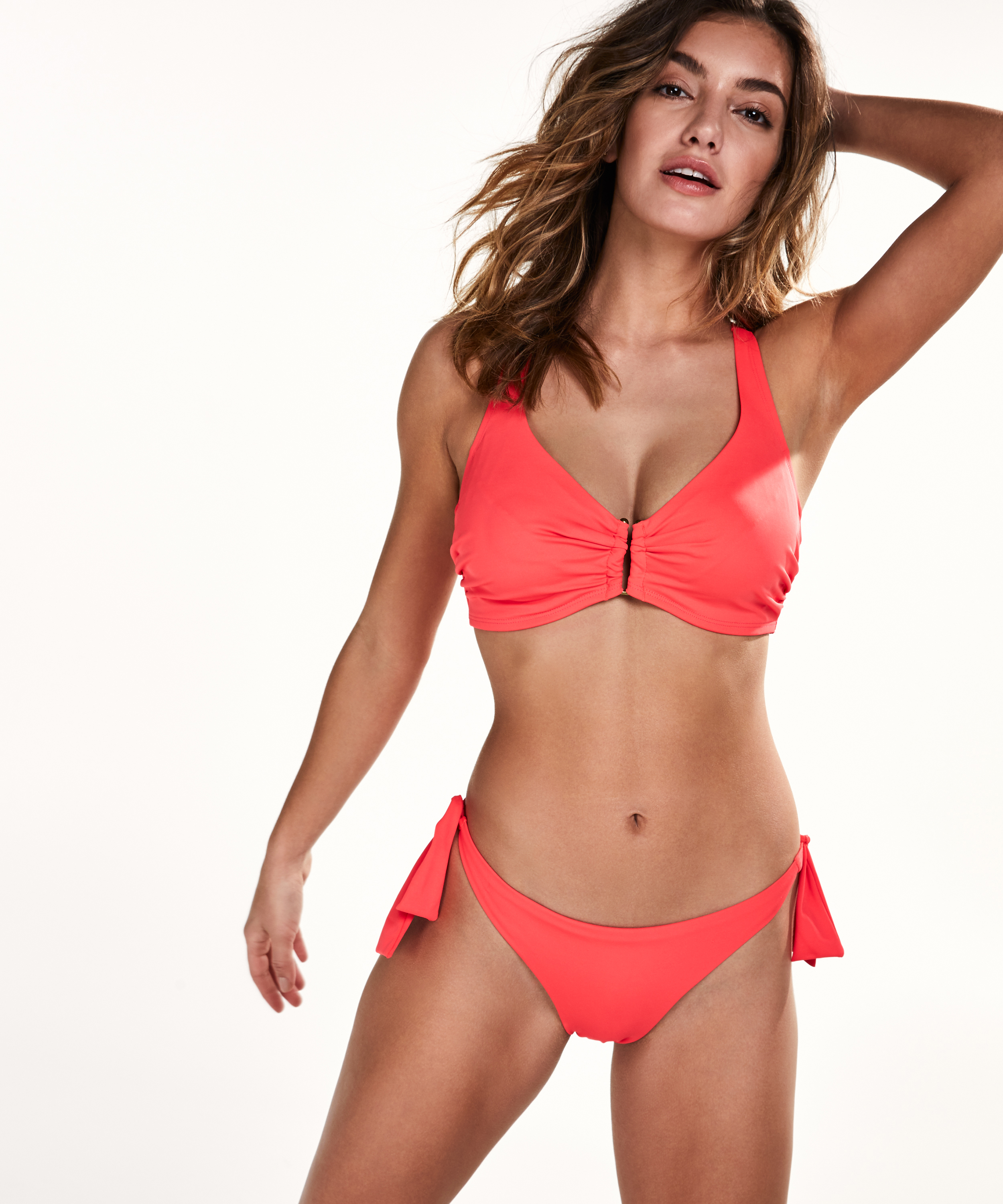 Brazilian bikinibroekje Sunset Dream, Rood, main