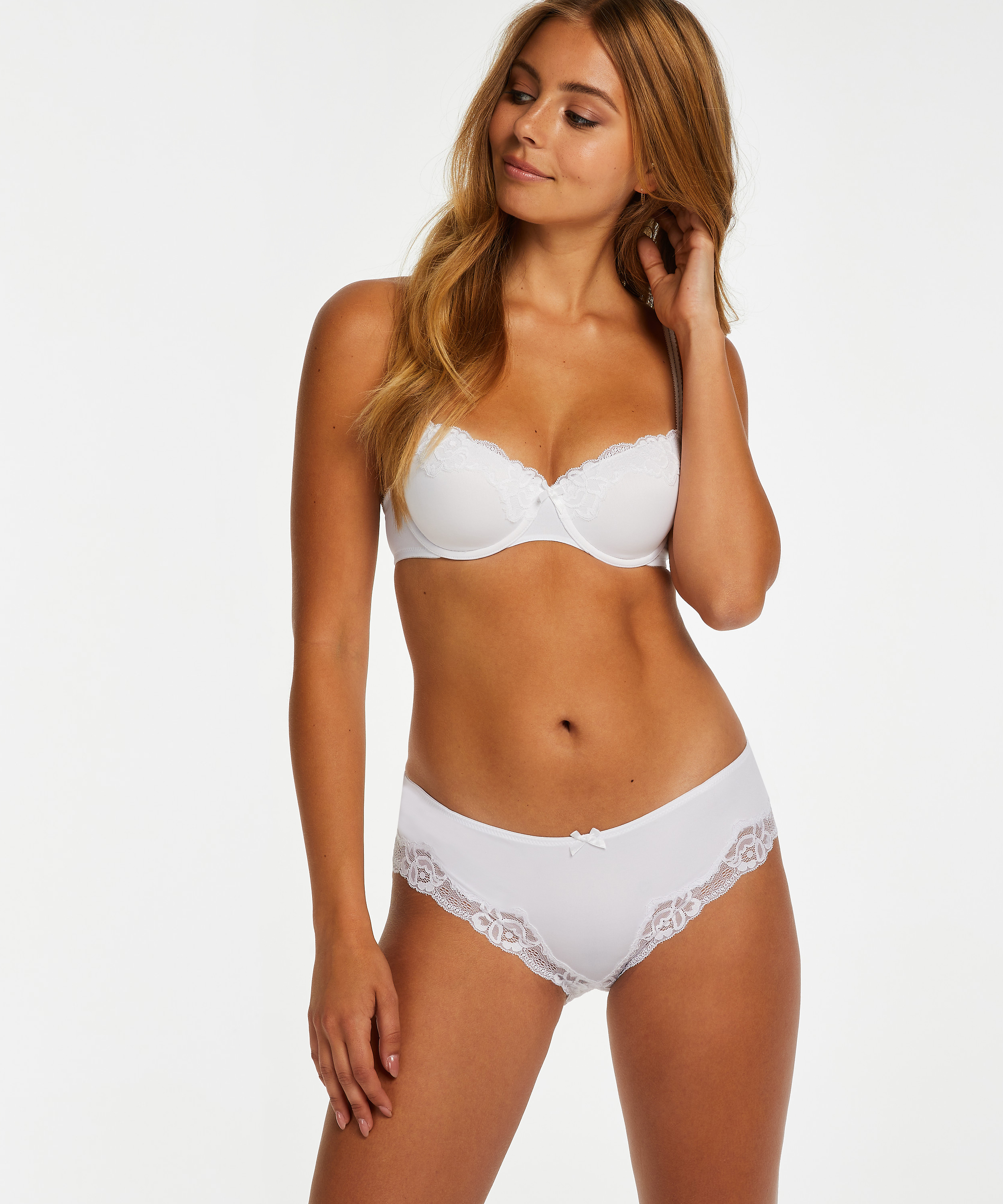 Slip Secret Lace, Wit, main