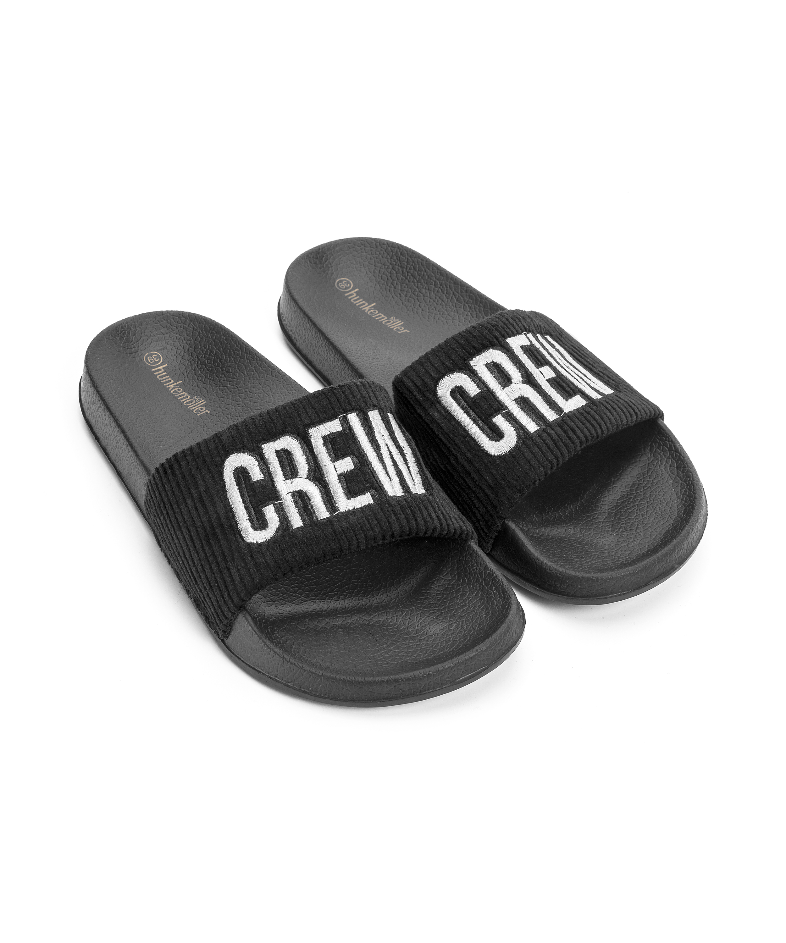 Slipper Crew, Zwart, main