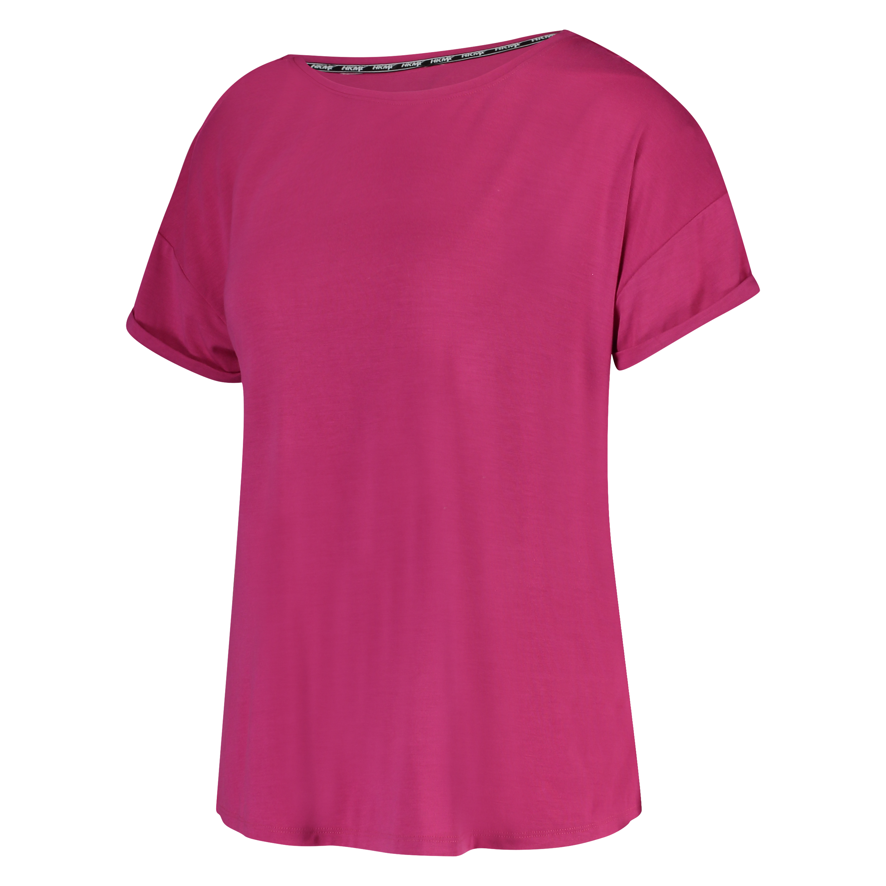 HKMX Sport top tee mesh tape, Roze, main