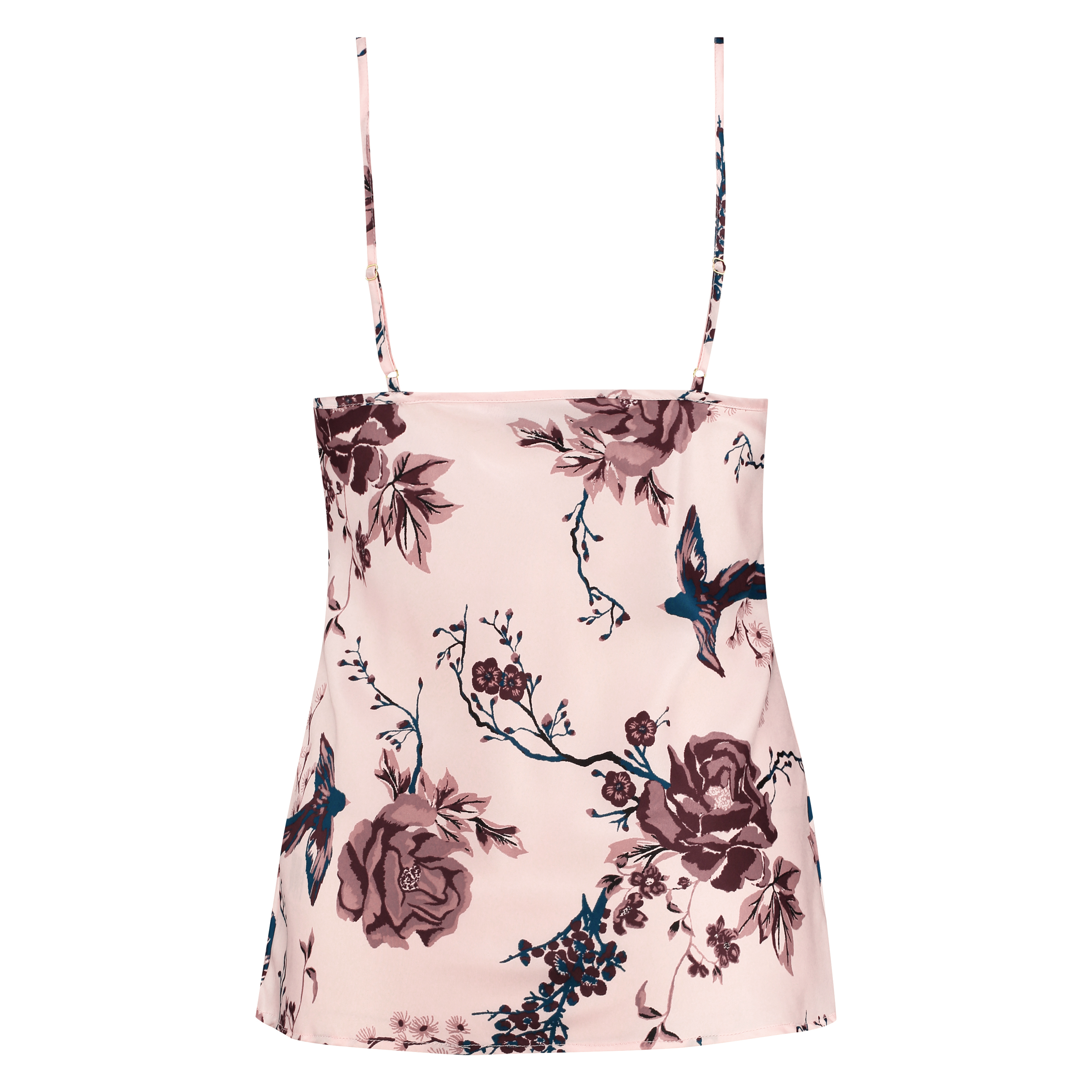 Cami Satin, Roze, main