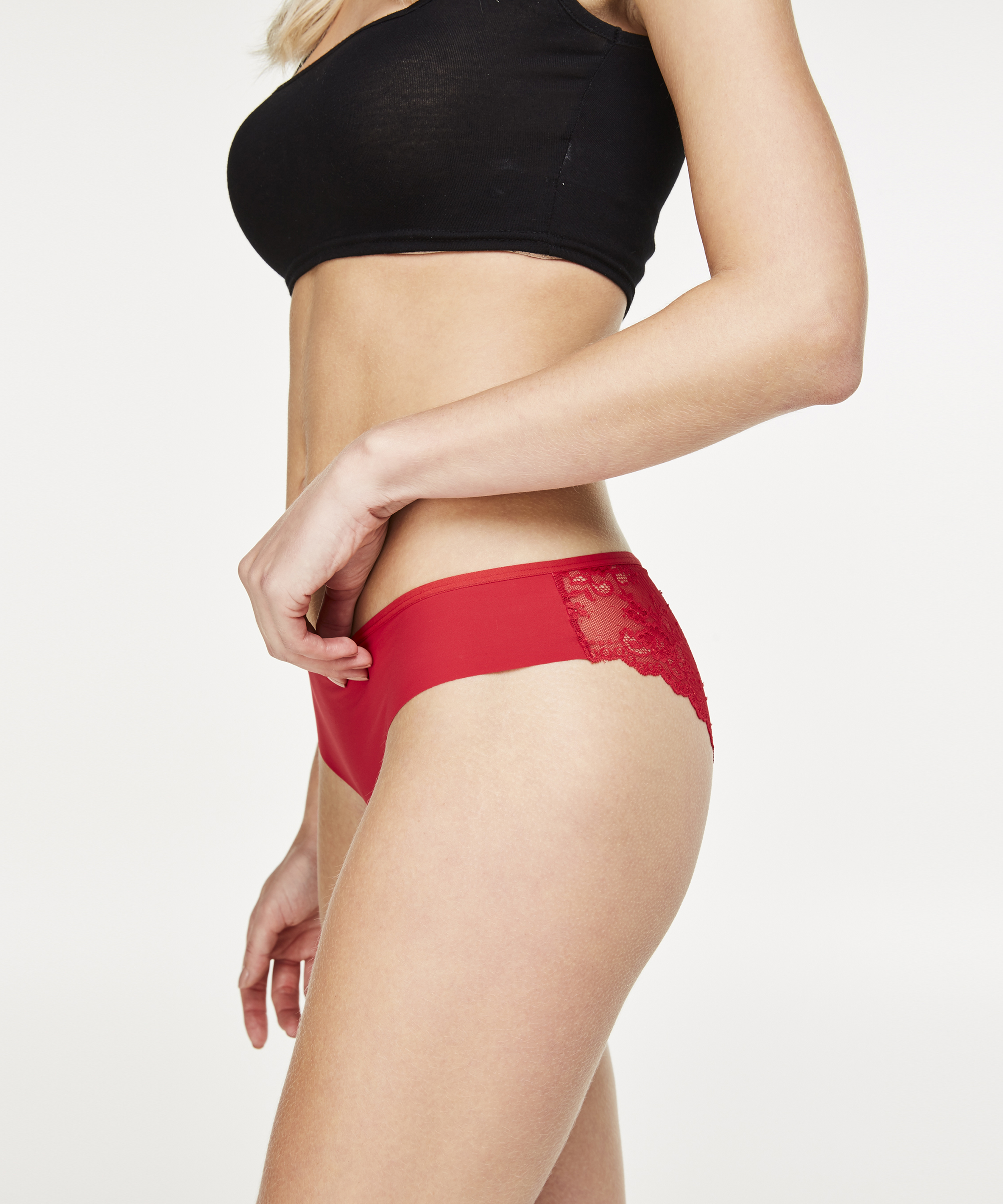 Invisible Brazilian Lace Back, Rood, main