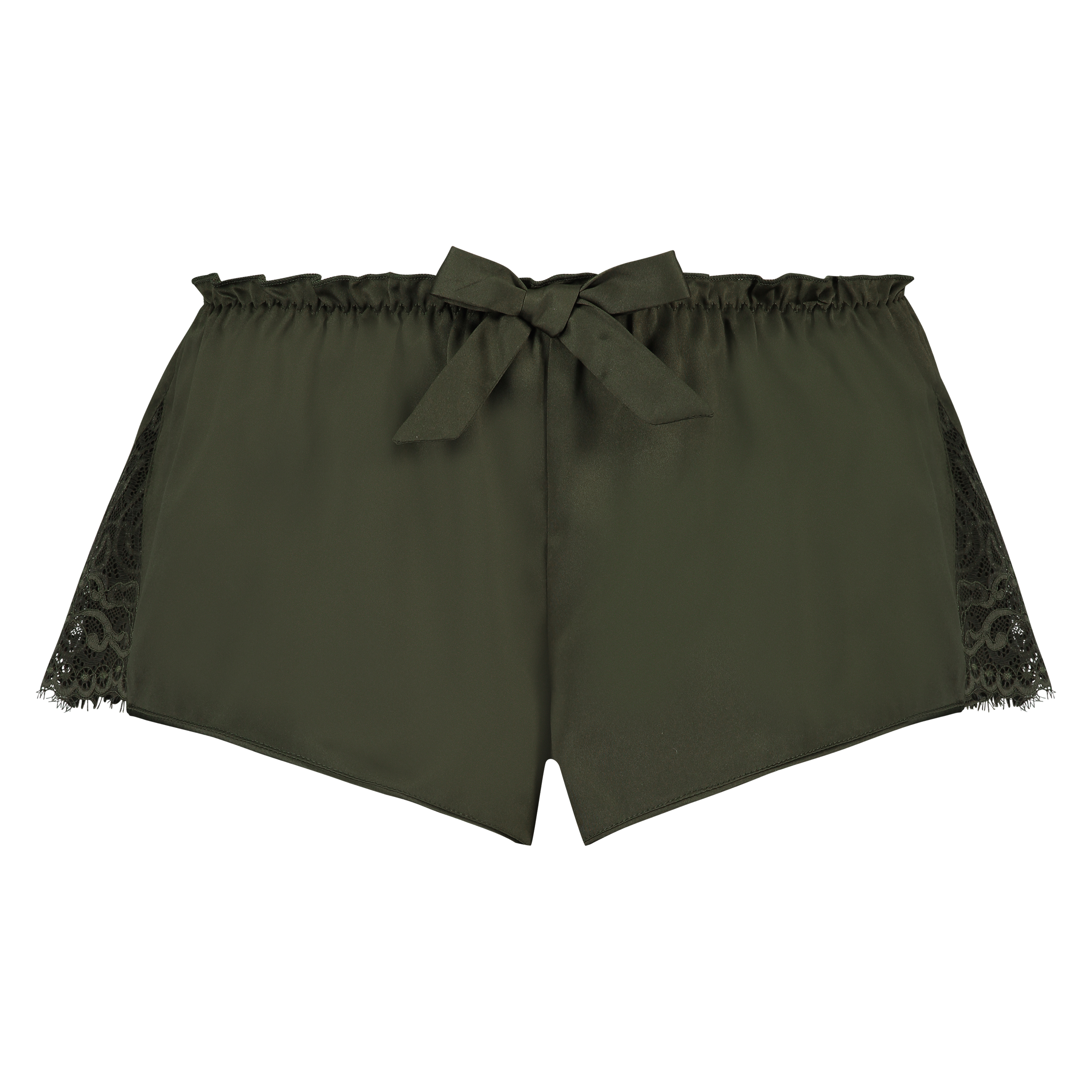Pyjama short Satin, Groen, main