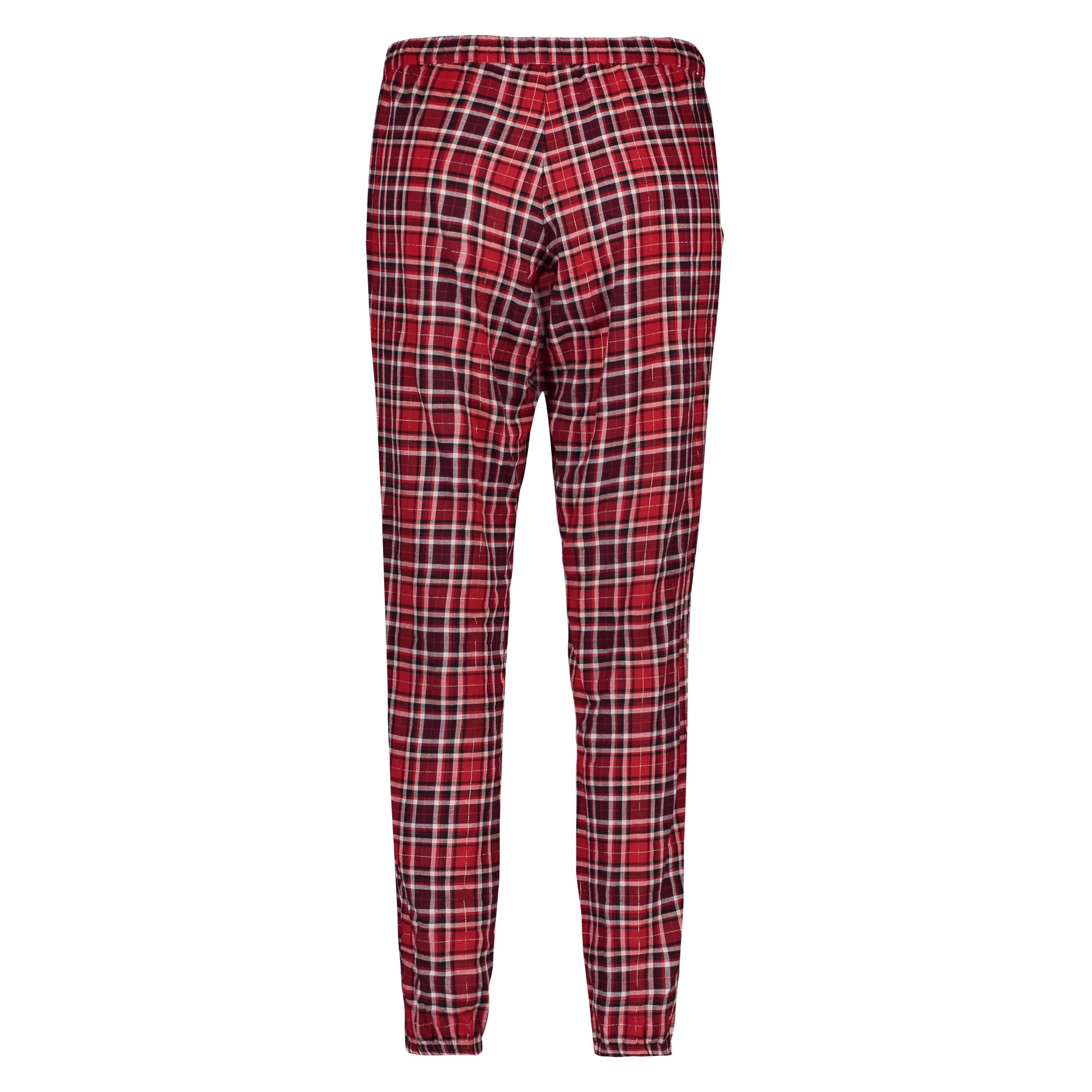 Pyjamabroek Check, Rood, main